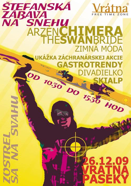 Štefanská zábava na svahu 26.12.!!!