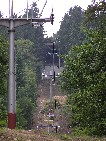 trasa od podpery č. 13 nahor /foto: Peťo z Lamača 16.06.2005/